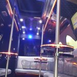 Inside Party bus hire Dublin