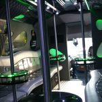 Inside Party Bus Hire in Dublin
