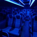 16 seater minibus hire inside 2 Newcastle West